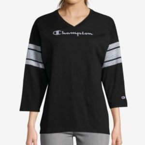 Champion Womens Top Heritage Football T-Shirt